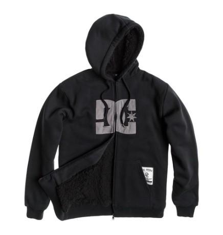 3fcc63e0 Sweatshirt All Star Sherpa colore Black Grey - Dc Shoes - SportIT.com