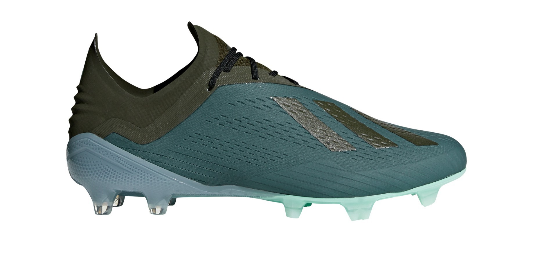 outlet store 4fd1f 88d3f Football boots Adidas X 18.1 FG Cold Mode Pack colore Green Black - Adidas  - SportIT.com