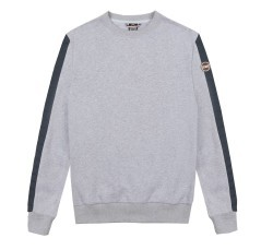 Mens sweatshirt crew neck front