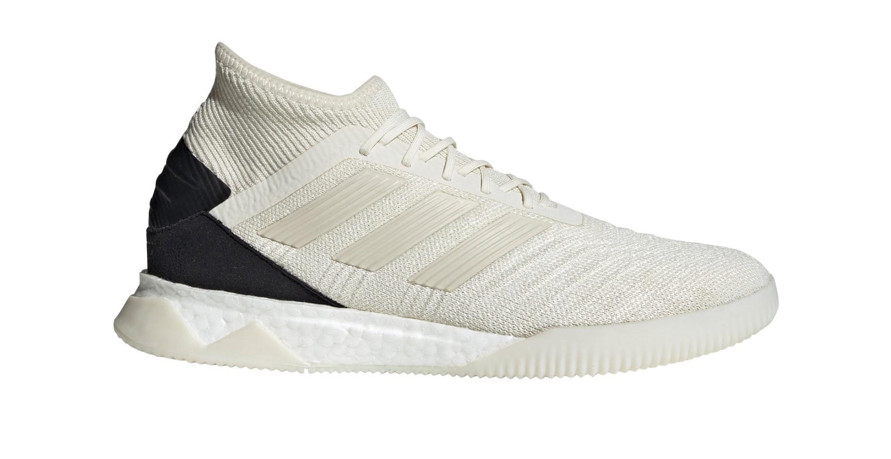 Spogliati Seminare Pebish  Shoes Soccer Adidas Predator 19.1 TR Initiator Pack colore White Black -  Adidas - SportIT.com