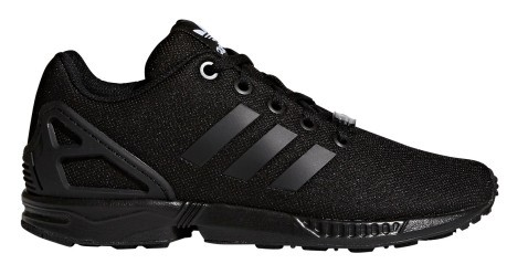 zx flux noir junior
