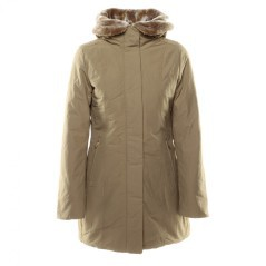 Jacket Casual Parka jacket Outdoor, color Beige, front