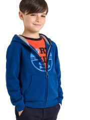Felpa Junior Full Zip Sweater blu variante 1