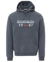 Men's Sweatshirt With Hood Berthow Grey