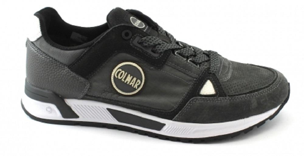 Mens Shoes Travis Supreme Colors colore Grey Black - Colmar Originals -  SportIT.com a05bd175484