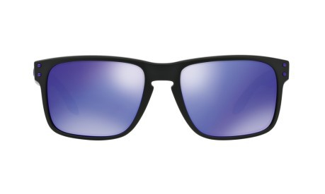 cb512b1623 Sunglasses Holbrook Julian Wilson Signature Series colore Black Violet -  Oakley - SportIT.com