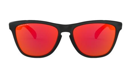 Occhiali da Sole Frogskins colore Nero Rosso - Oakley - SportIT.com 55280a50e7