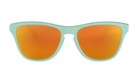 3d8fafb472 Sunglasses Frogskins XS Youth colore Light blue Red - Oakley - SportIT.com