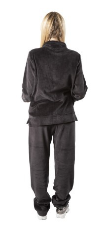 Trainingsanzug Damen W-Easy-Fit-Velour-FZ