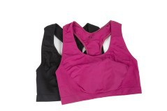 Top Set Donna W-Samless Soft Stretch rosa nero