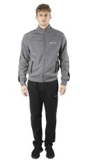 Trainingsanzug Herren M-Authentic-grau schwarz