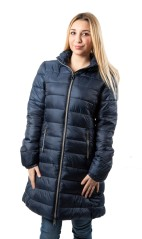 Jacket ladies W-Outdorr Long with Hood