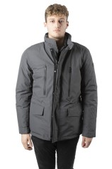 Men's jacket Double Inside More grey