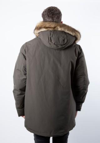 the latest e8103 ef533 Jacket Parka Men With Fur