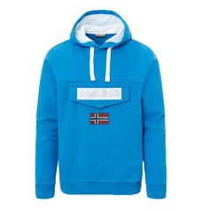 Men's sweatshirt With Hood Burgee front