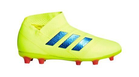 detailed look ec512 1354f Botas de fútbol Adidas Nemeziz 18+ FG Exhibición Pack