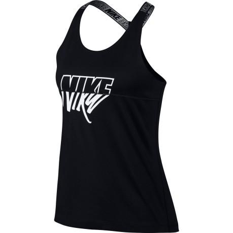 pick up 0e64f 59cc7 Camisole Victory colore Black White - Nike - SportIT.com