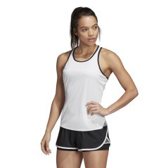 Tank top ladies Club Tank white black