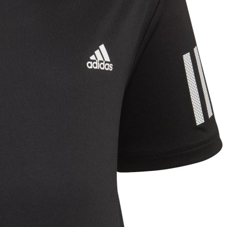 Junior T-Shirt 3 Stripes black Club