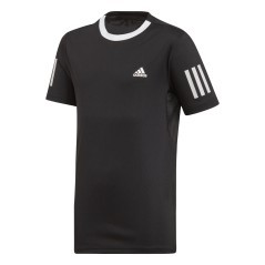 Junior T-Shirt 3 Stripes schwarz-Club
