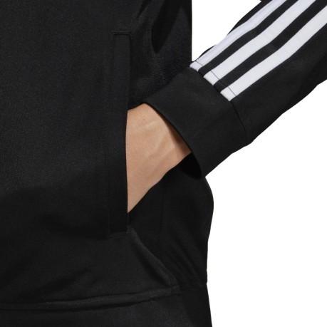 2a5d22813a Tuta Donna Back 2 Basics 3-Stripes colore Nero Bianco - Adidas ...