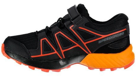 Scarpe Trail Runnig Junior SpeedCross CSWP nero arancio