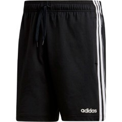 Short Uomo Essentials 3 Stripes Single nero bianco