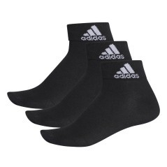 Socken-Fitness-Performance Thin Ankle schwarz