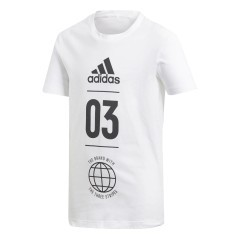 T-Shirt Junior Sport ID bianco