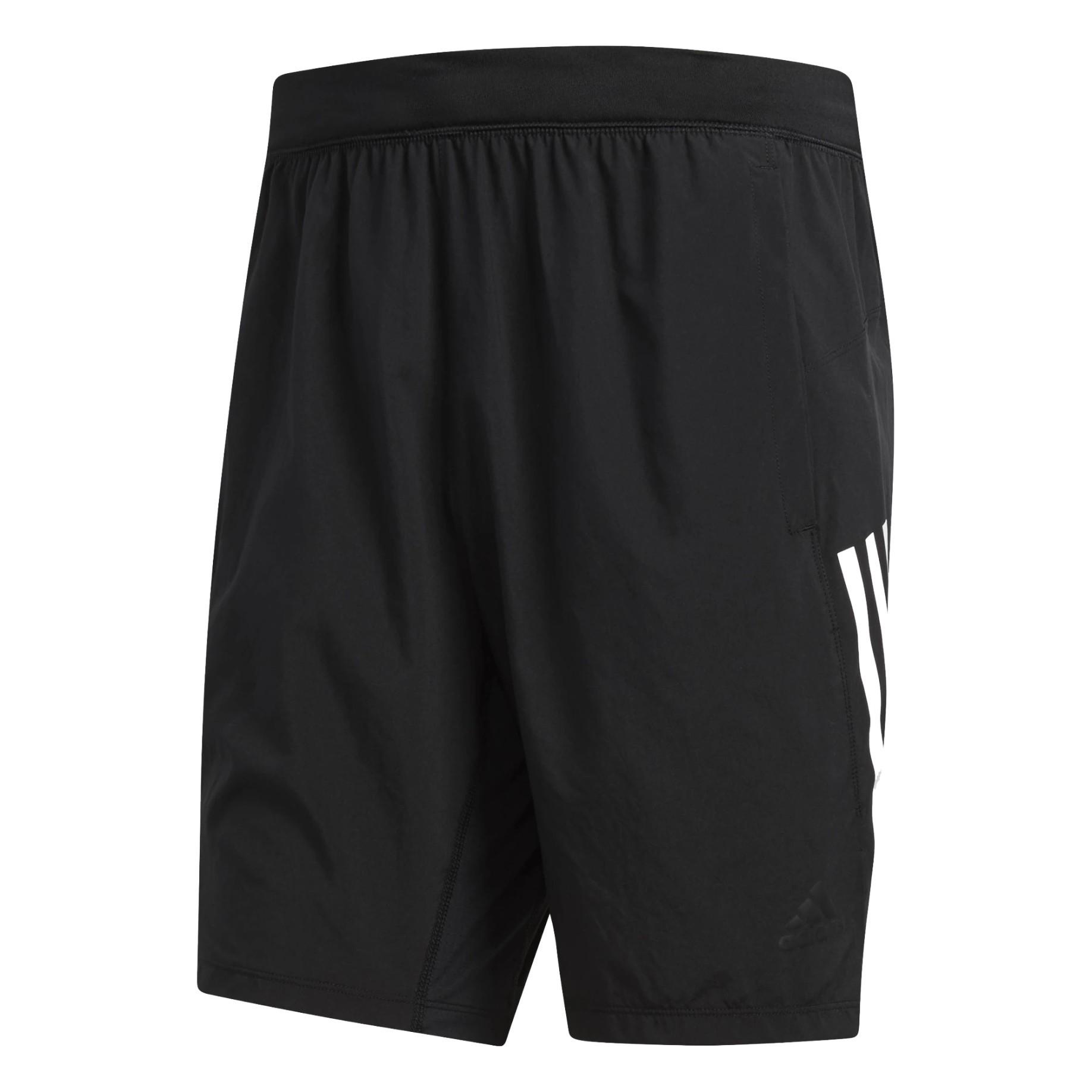 the latest 0691e 781b1 Short Man 4KRFT Tech Woven 3-Stripes colore Black - Adidas - SportIT.com