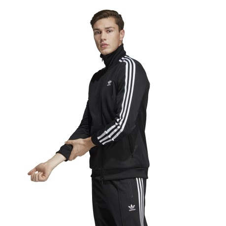 Men's sweatshirt Track Jacket BB white black 1