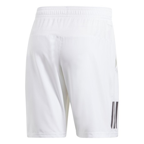 Short Uomo Club 3-Stripes 9-Inch bianco