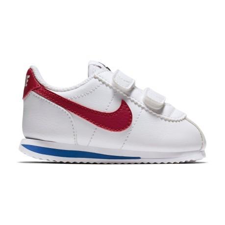 Scarpe Junior Cortez SL TD colore Bianco Rosso - Nike - SportIT.com