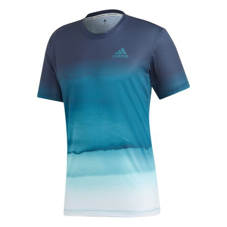 tee shirt adidas homme turquoise