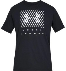 T-Shirt Uomo Branded Big Logo nero