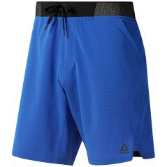 Short Uomo Training Epic Knit Waistband fantasia-blu davanti