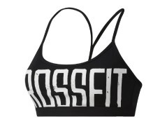 Top Donna Bra CrossFit Graphic Skinny blu