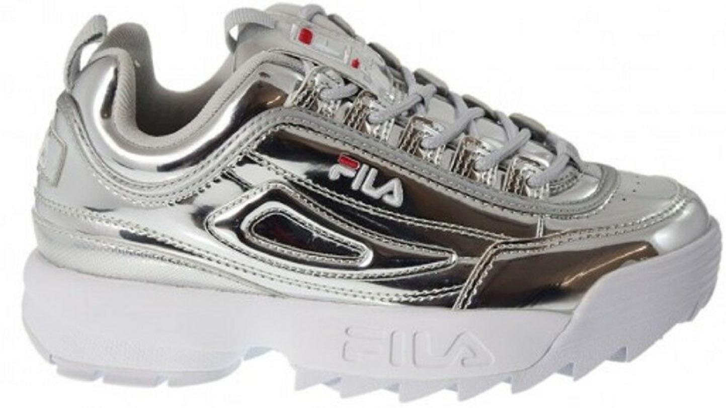 8c985a45830cbb Shoes Disruptor M Low colore Silver - Fila - SportIT.com