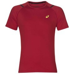 T-Shirt Running Uomo Icon SS Top rosso