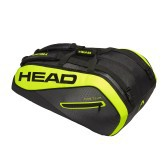 Bolsa Tour Team Extreme Monstercombi X12 negro amarillo