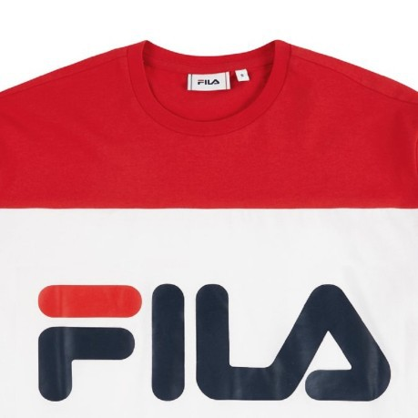 Men's T-Shirt Day Tee red-blue