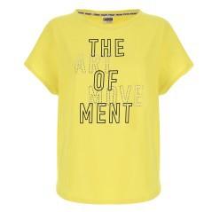 Arancione Heart blu Adidas giallo Xs rosa Donna Tee Maglietta dIqH1wH4