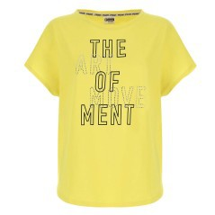 T-Shirt Donna Light Jersey giallo