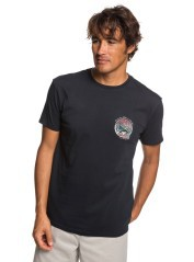 Men's T-shirt Waterman Whale Sunset black