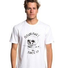 Men's T-shirt Skull Board black