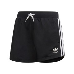 Short Junior 3-Stripes nero bianco