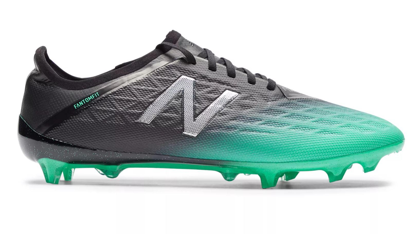 Scarpe Calcio New Balance Furon V5 Pro FG Black Green Pack