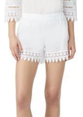 Cover Costume Woman Short Roseville white