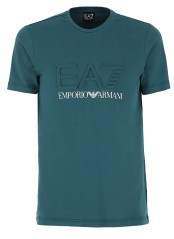Men's T-Shirt Train Logo in green