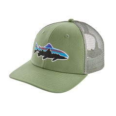Hat Fitz Roy Trout Trucker green